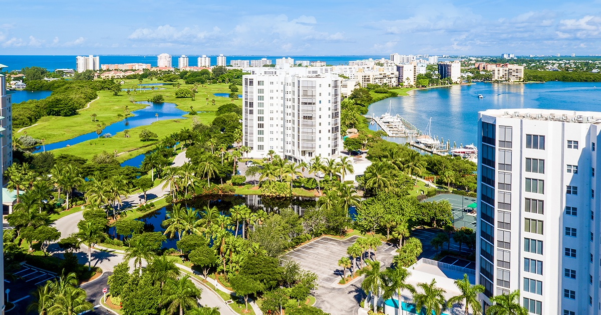 Grandview at Bay Beach offers luxury living close to shopping, dining, and entertainment